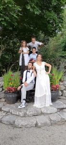 Celine-Ali-on-their-wedding-day-low-res