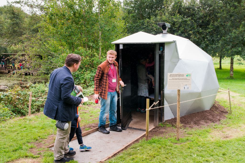 Gallery_For_kids_earth_quest_Family _Geodesic_Camera_Obscura_Brigits_garden_galway